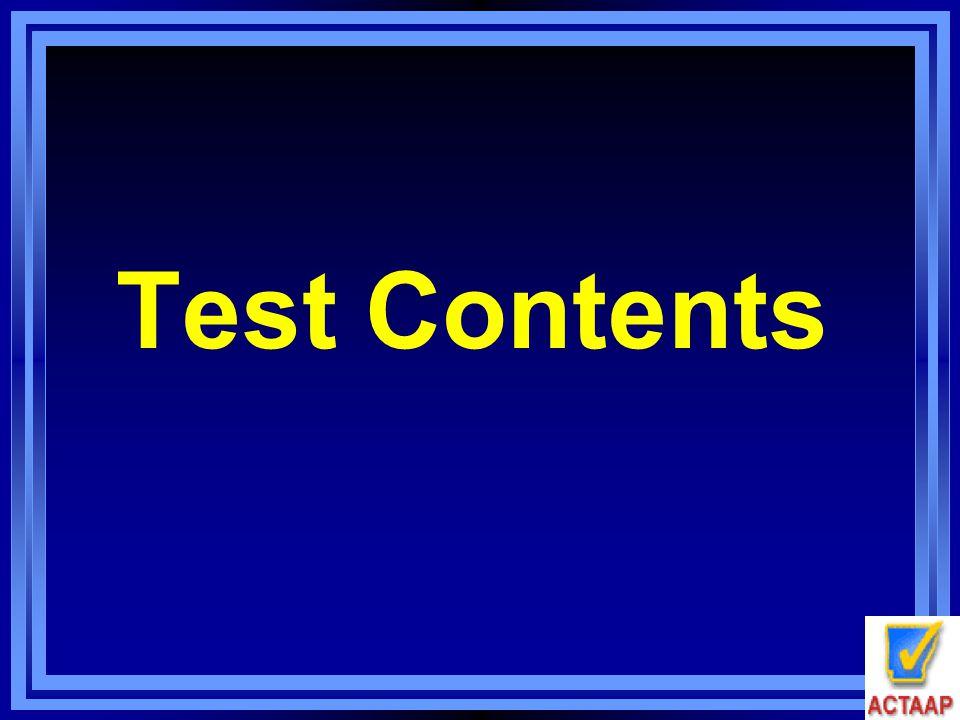 Test Contents