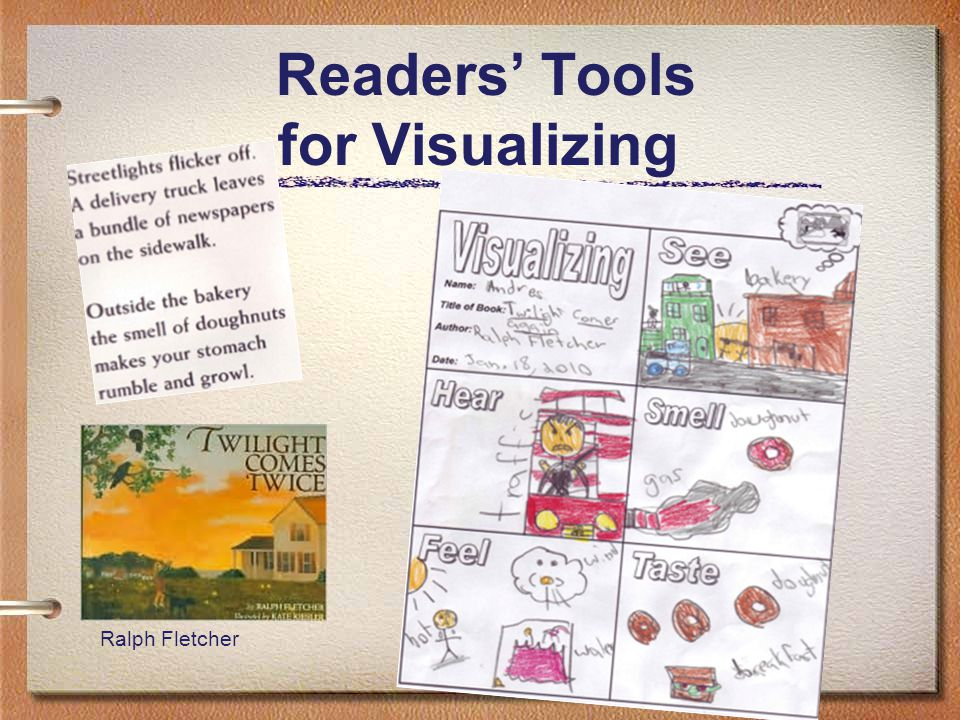 25 Readers' Tools for Visualizing Ralph Fletcher