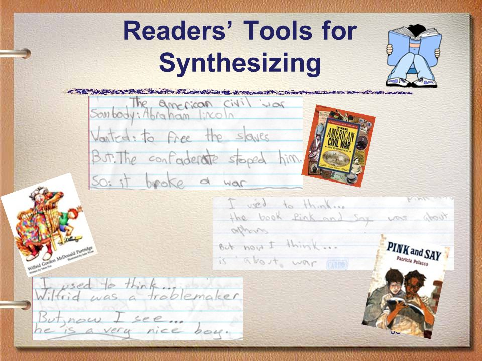 65 Readers' Tools for Synthesizing