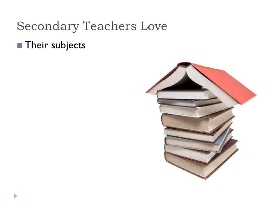 College Teachers Love Themselves