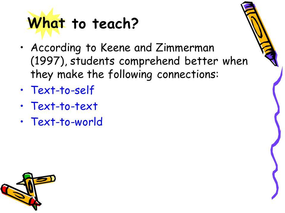 to teach.