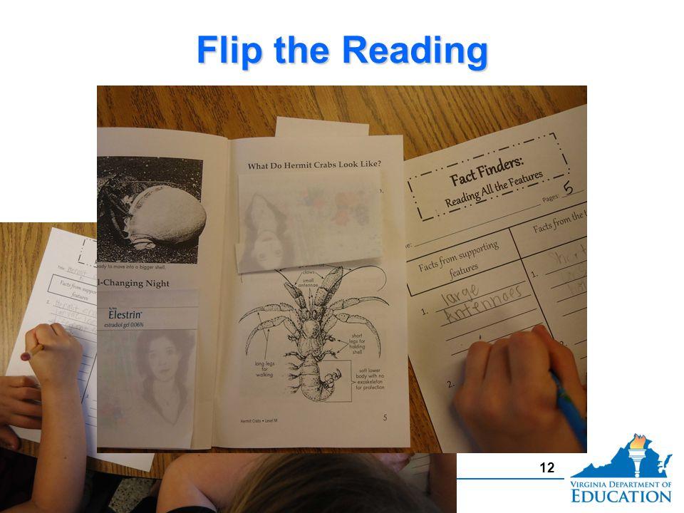 Flip the Reading 12