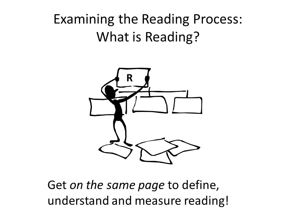 Comprehension= Constructing Meaning 5.Create a new construct or idea, the gist or meaning 6.Store the new idea 7.Retrieve upon demand