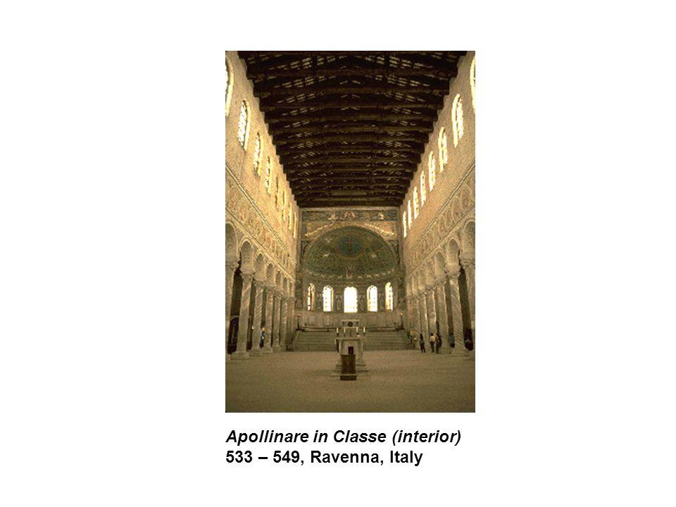 Apollinare in Classe (interior) 533 – 549, Ravenna, Italy