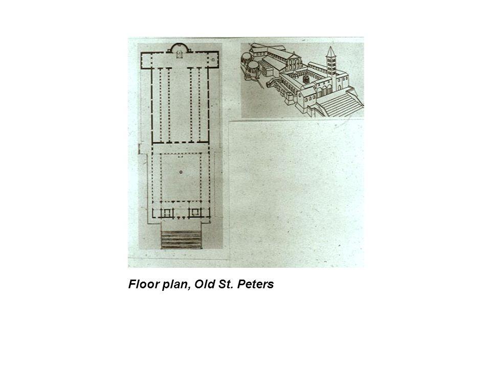 Floor plan, Old St. Peters