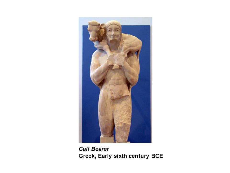 Calf Bearer Greek, Early sixth century BCE
