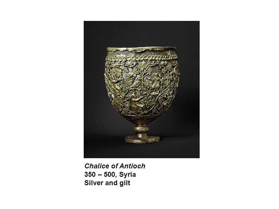 Chalice of Antioch 350 – 500, Syria Silver and gilt