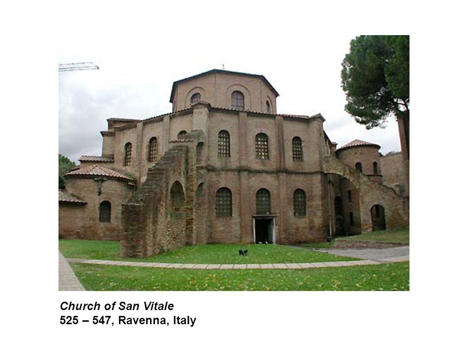 Church of San Vitale 525 – 547, Ravenna, Italy
