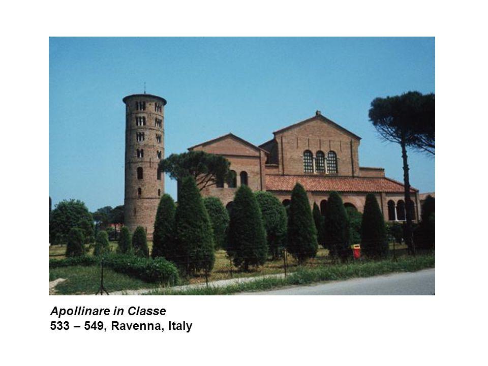 Apollinare in Classe 533 – 549, Ravenna, Italy