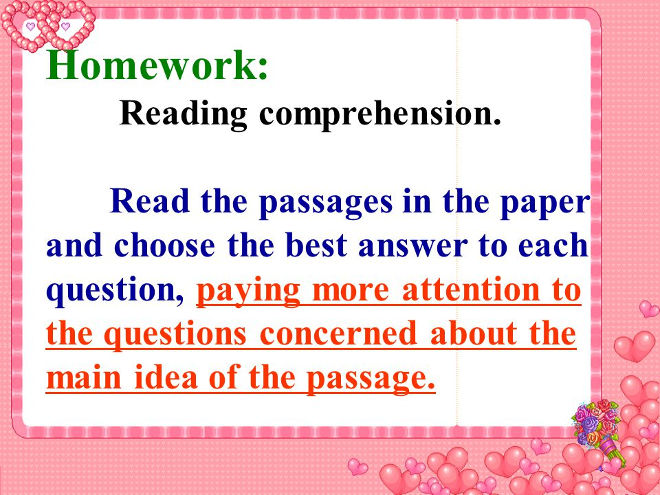 Supporting sentences(details) Paragraph ideas Passage idea Main idea How to get the main idea .