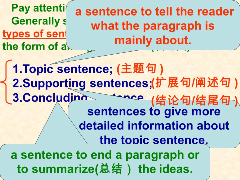 How to get the main idea of a passage ( an argumentation 议论 文 ) ?