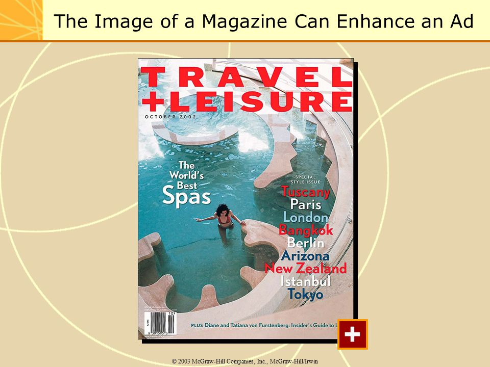 The Image of a Magazine Can Enhance an Ad © 2003 McGraw-Hill Companies, Inc., McGraw-Hill/Irwin +