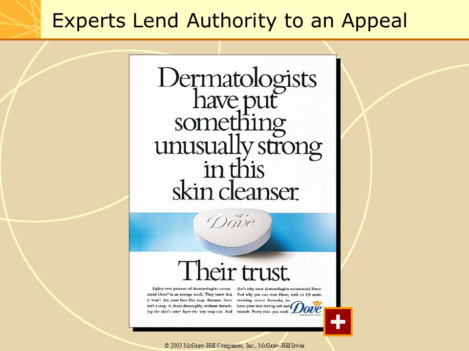 Experts Lend Authority to an Appeal © 2003 McGraw-Hill Companies, Inc., McGraw-Hill/Irwin +