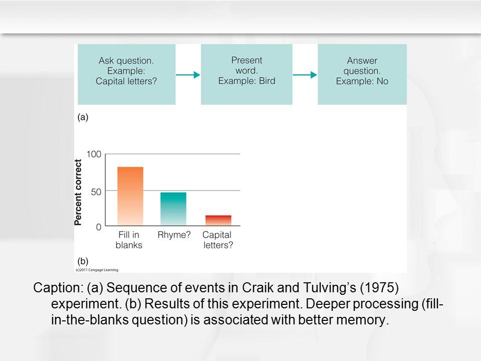 Beware of Circular Reasoning.Which task causes deeper processing.