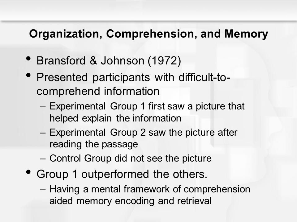 Improving Learning and Memory Elaborate –Highlighting is not enough.