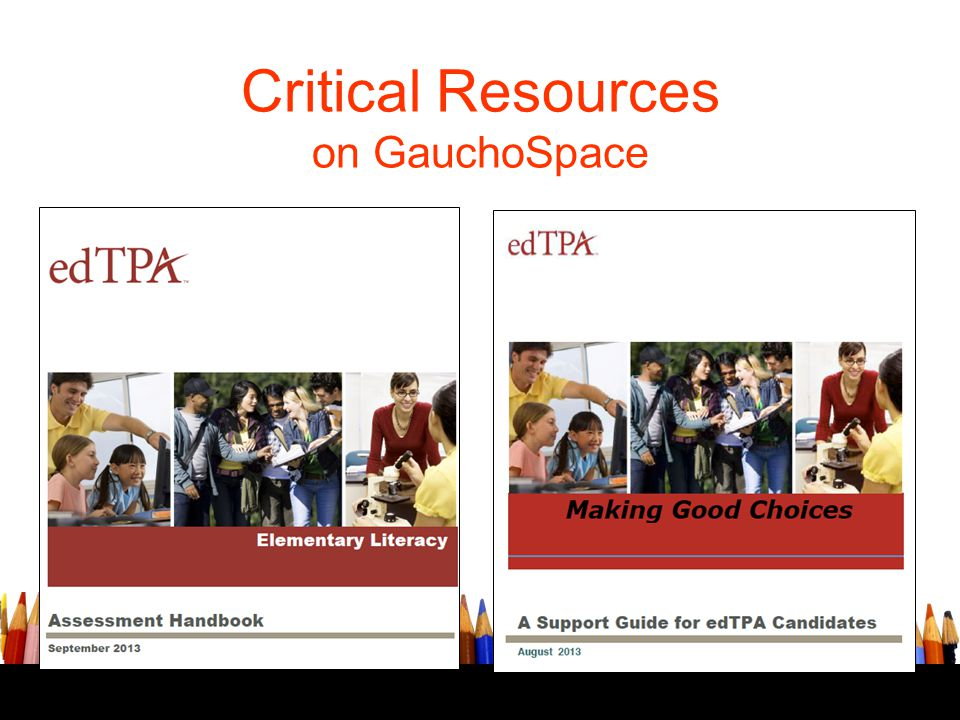 Critical Resources on GauchoSpace