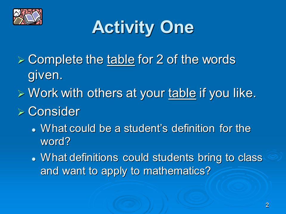 3 Why teach vocabulary.