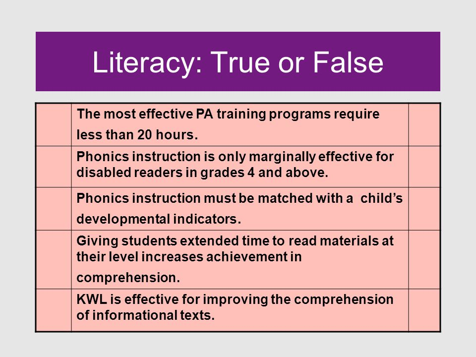 Wide Reading The most important thing we can do to improve children's reading achievement is to have them read as much connected text at their instructional level as possible.