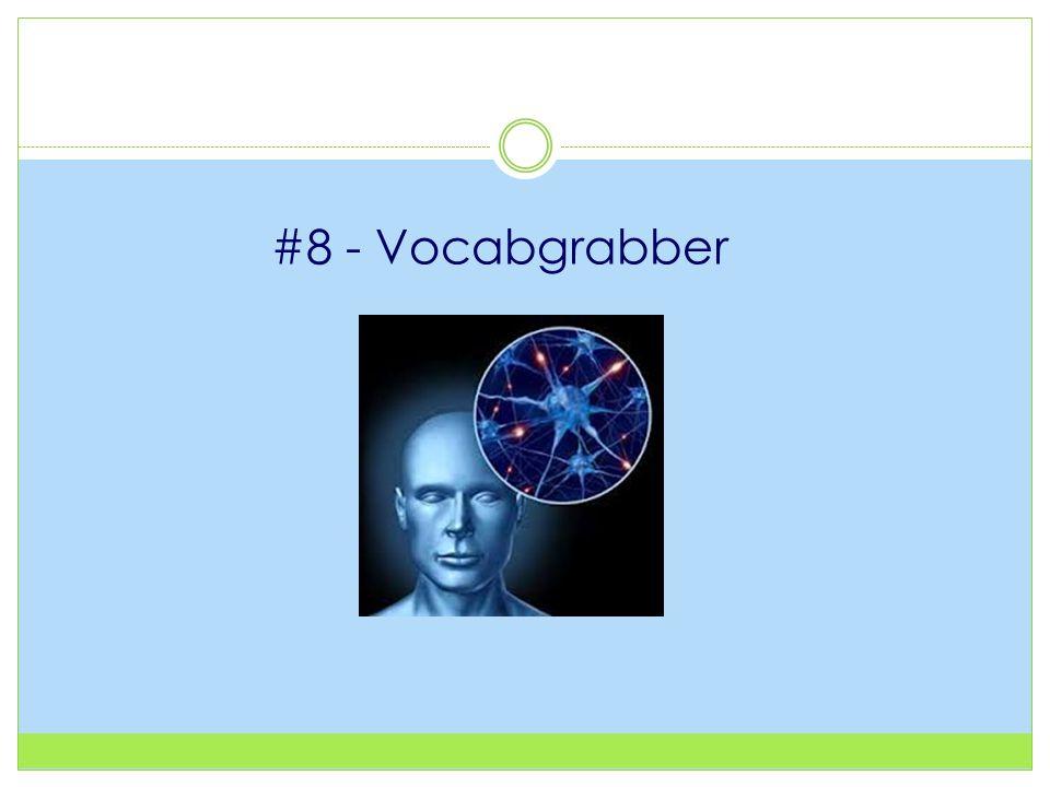 #8 - Vocabgrabber