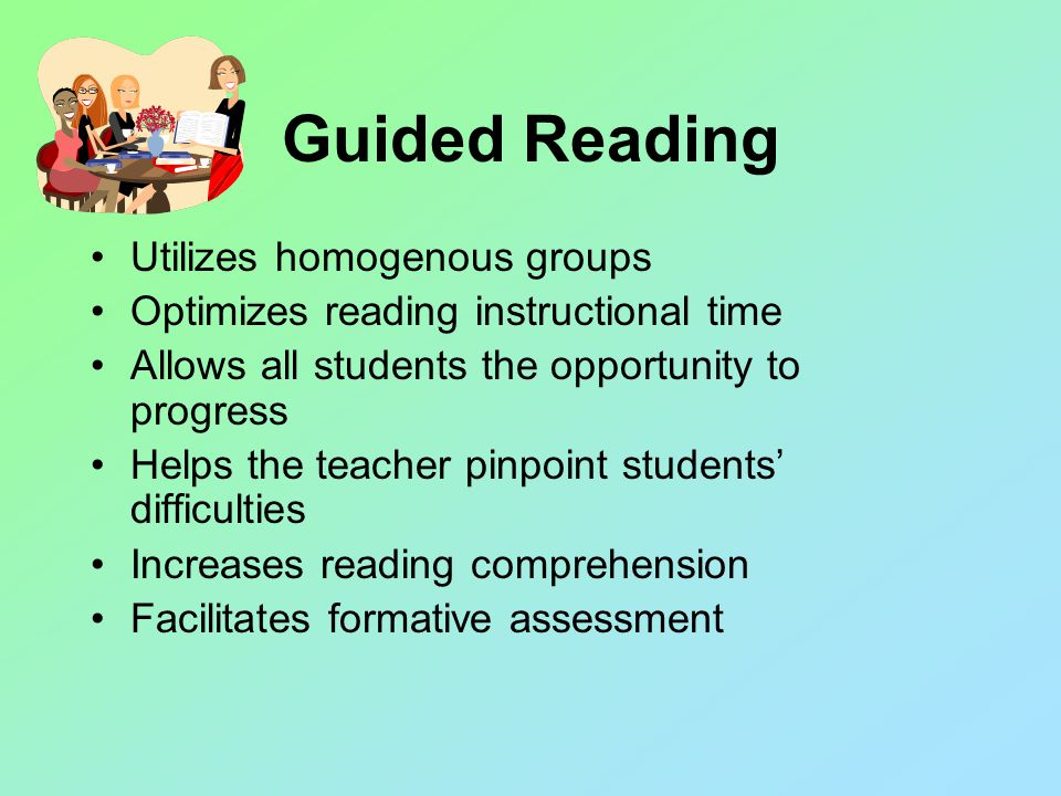 Components of Guided Reading Comprehension Fluency Word Study