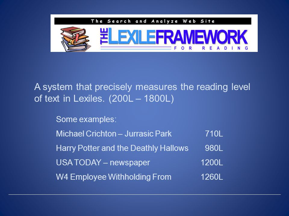 A widely adopted reading measure used by over 450 publishers.