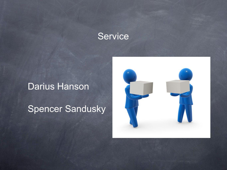 Service Darius Hanson Spencer Sandusky