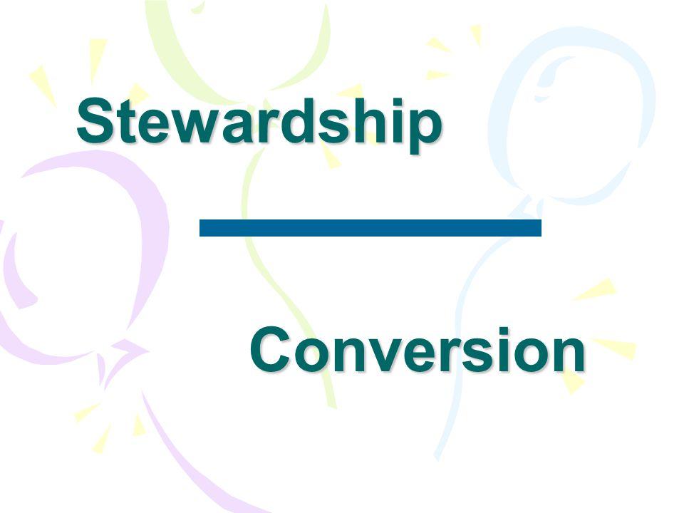 Stewardship Conversion
