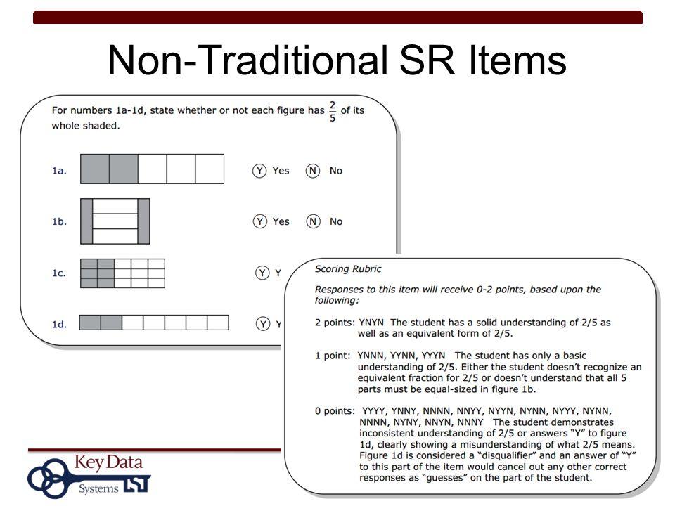 Non-Traditional SR Items 42