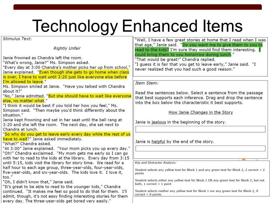 Technology Enhanced Items 57