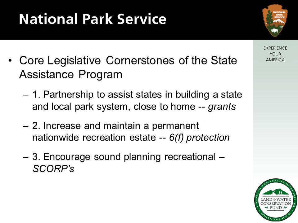 Core Legislative Cornerstones of the State Assistance Program –1.