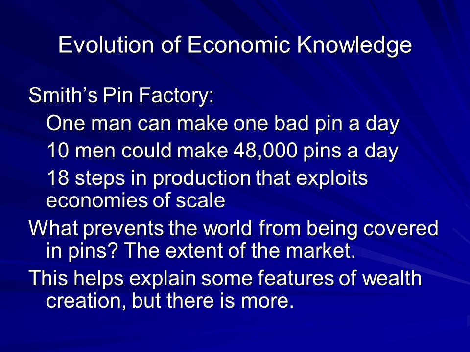 A Completely Original Concept David Ricardo (1817): Comparative Advantage The great economist, Paul Samuelson, was asked by a great mathematician at MIT to name a concept in social science that was both true and nontrivial.