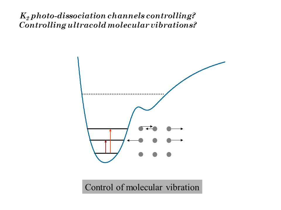 K 2 photo-dissociation channels controlling. Controlling ultracold molecular vibrations.