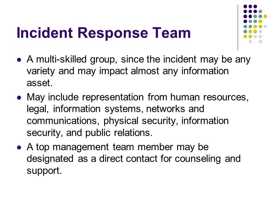 CERT CERT stands for Computer Emergency Readiness Team.