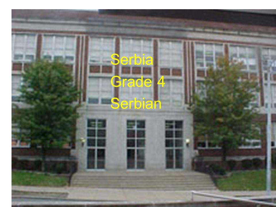 Serbia Grade 4 Serbian