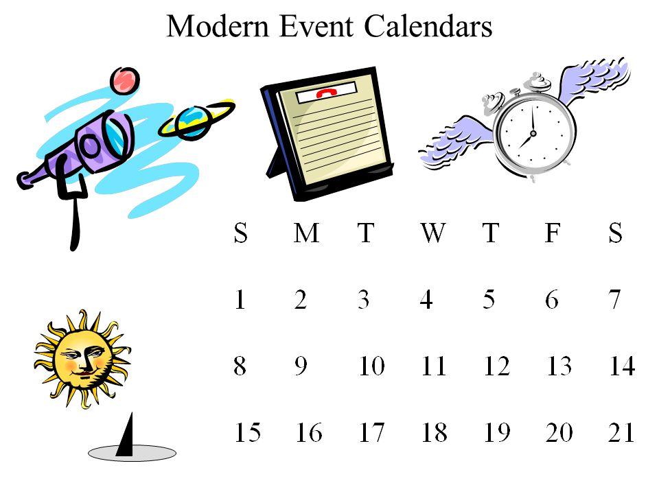 Modern Event Calendars