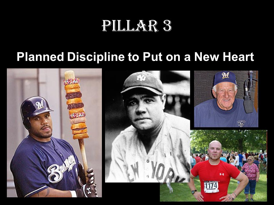 Pillar 3 Planned Discipline to Put on a New Heart