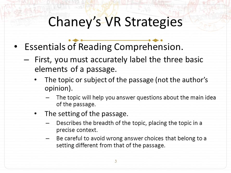 14 Chaney's VR Strategies Essentials of Reading Comprehension.