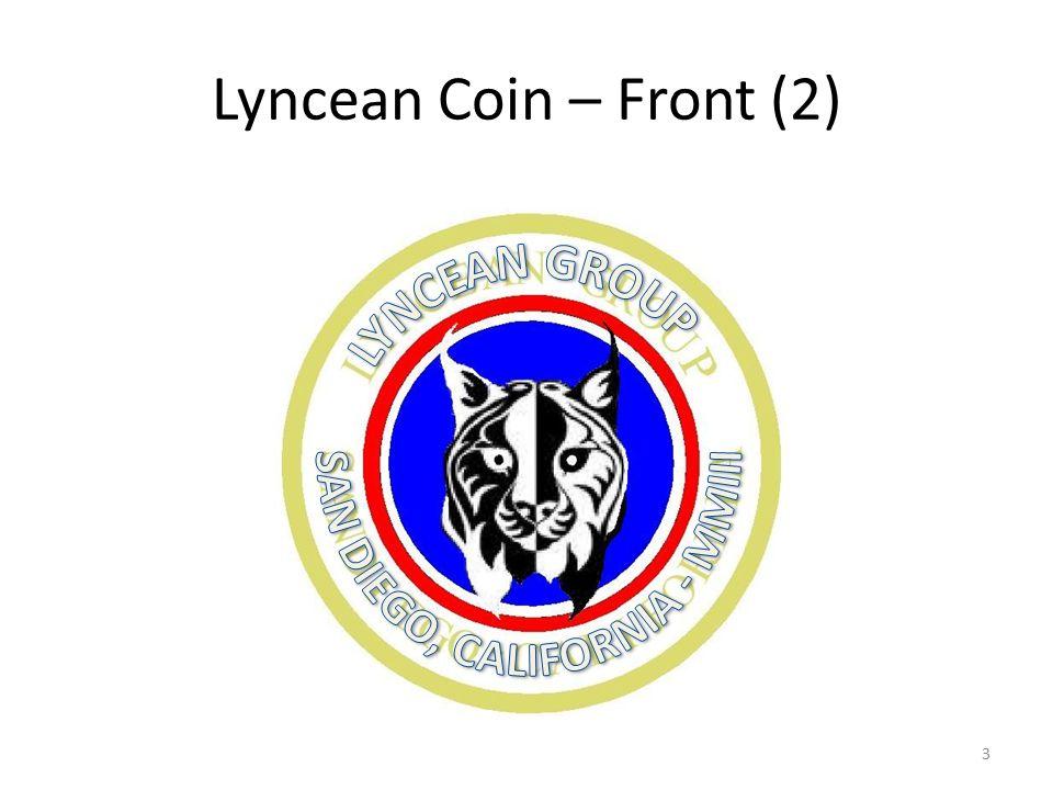 Lyncean Coin – Front (2) 3