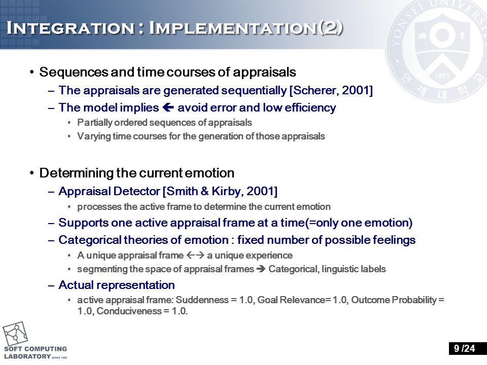 Evaluation 20 /24