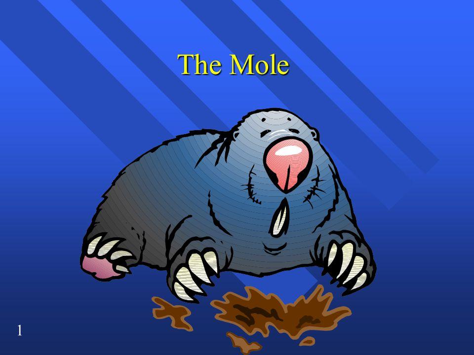 1 The Mole