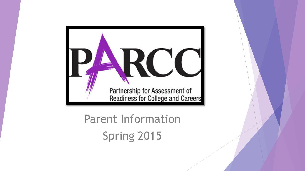 Parent Information Spring 2015
