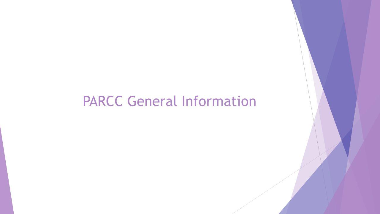 PARCC General Information