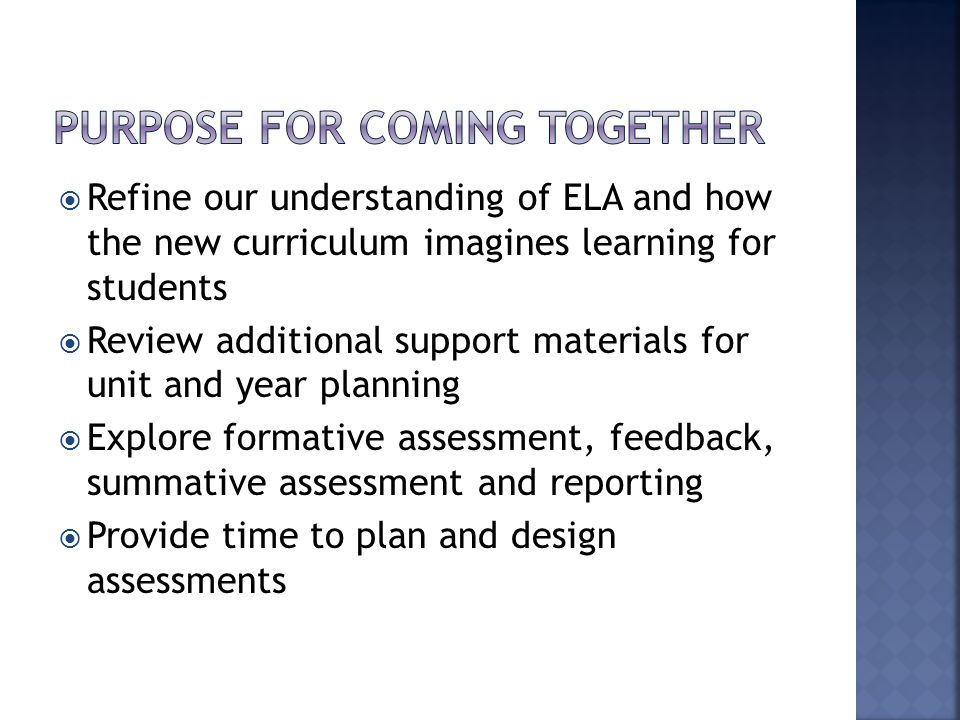  Develop and link tasks  Sort Whats into Unit/Year plans and identify contexts, unit types, and Big Ideas  Develop assessments with criteria  Develop Learning Plans for units