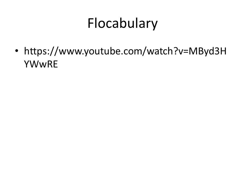 Flocabulary https://www.youtube.com/watch?v=MByd3H YWwRE