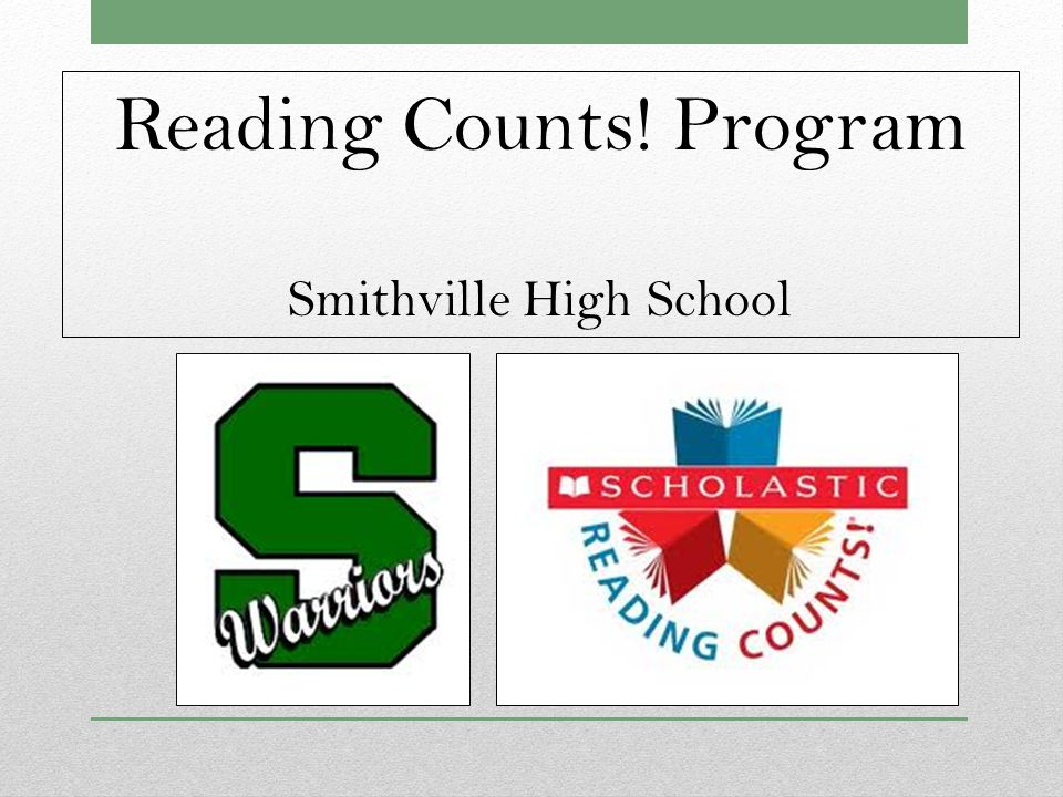 Reading Counts.S.H.S.