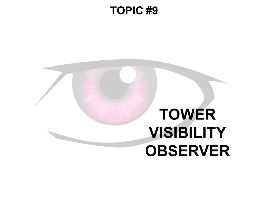 TOWER VISIBILITY OBSERVER TOPIC #9