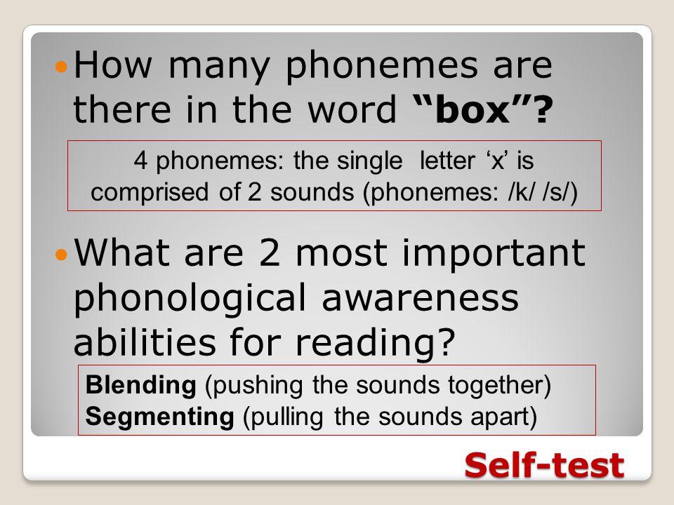 2. Alphabet principle Understanding the relationships between phonemes & graphemes ◦Lack of phonemic awareness impedes development of alphabetic princ