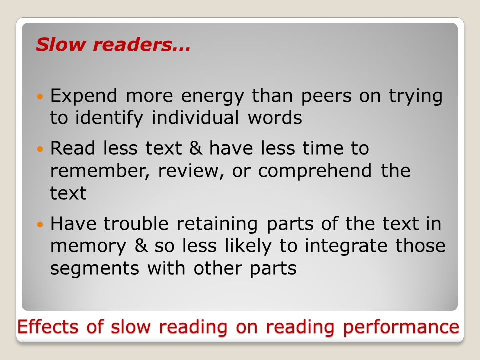 """3. Reading Fluency Fluency: """"the ability to read connected text rapidly, smoothly, effortlessly, & automatically with little conscious attention to th"""