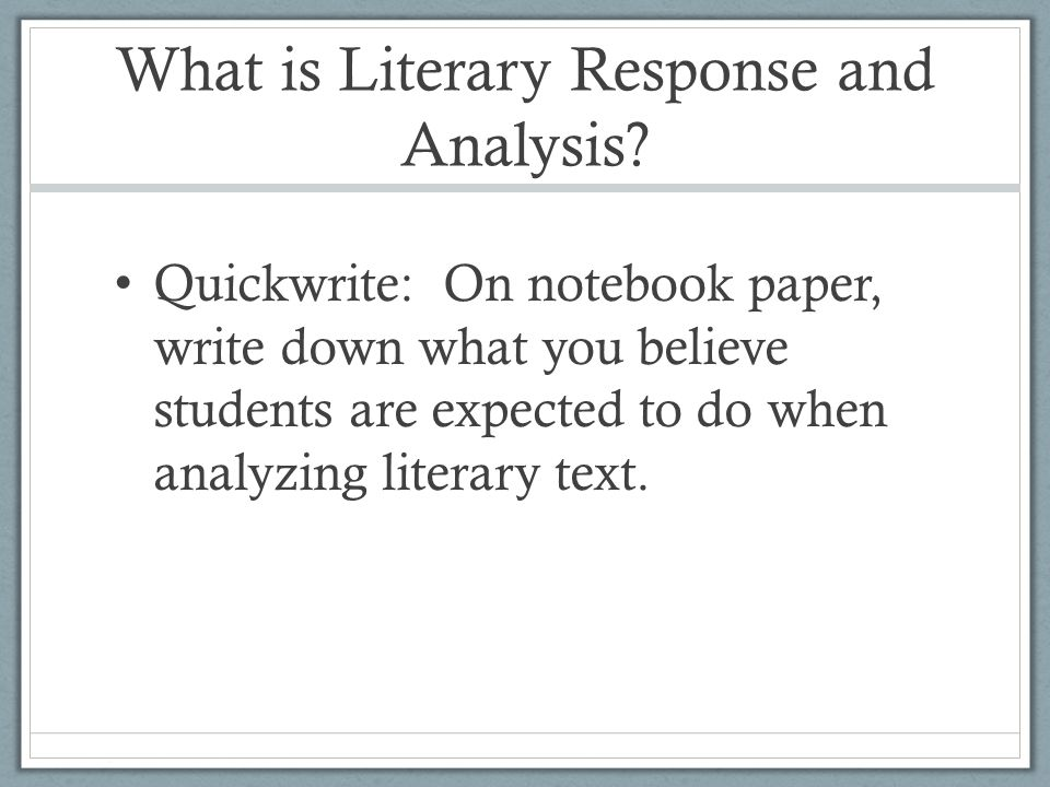 Reading Domain DomainReading Strand3.0 – Literary Response and Analysis SubstrandNarrative Analysis of Grade Level Appropriate Text Standard3.4 – Determine characters' traits by what the characters say about themselves in narration, dialogue, dramatic monologue, and soliloquy.