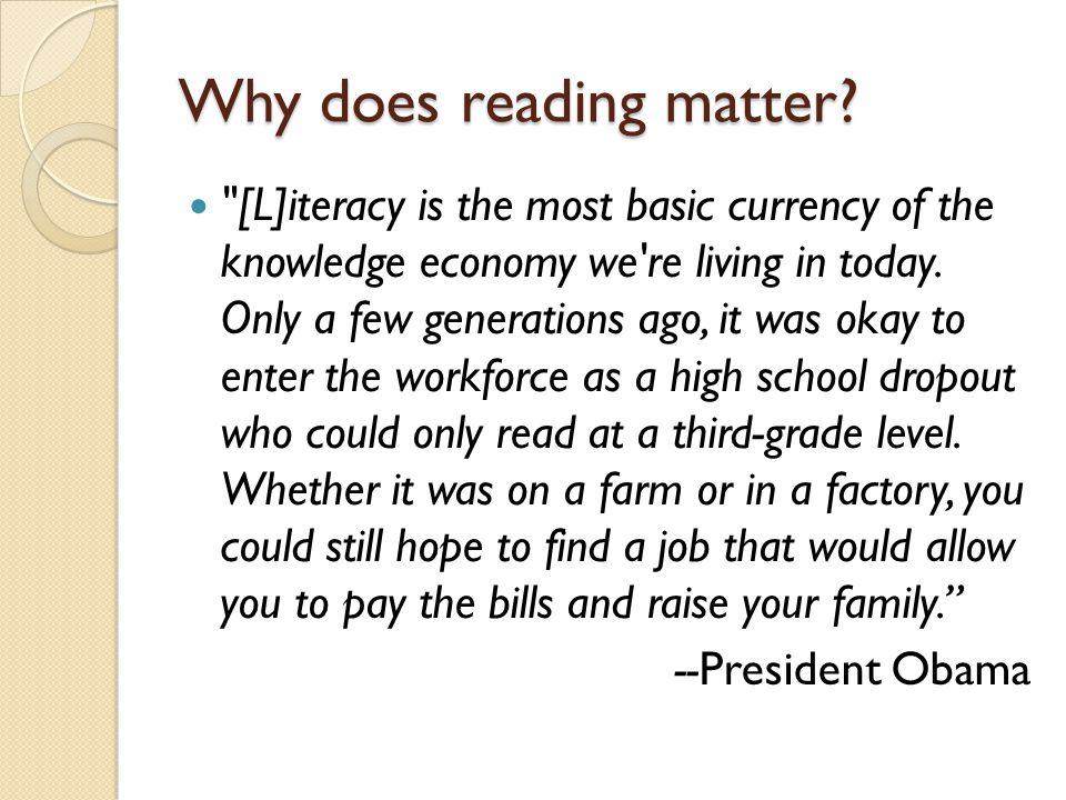 Why doesn't just the ELA teacher teach reading.